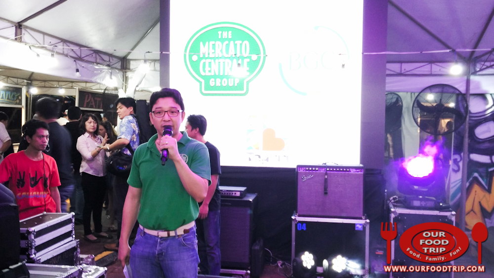 RJ Ledesma, co-founder of Mercato Centrale