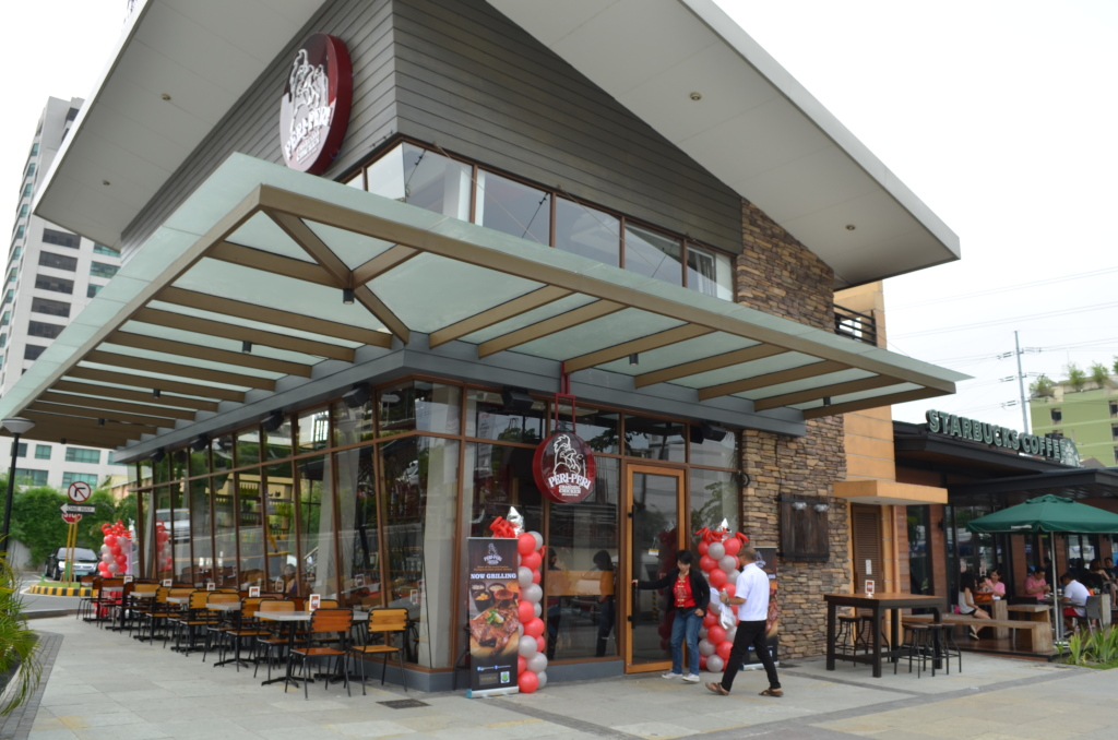 7.  Exterior shot of Peri-Peri Capitol Commmons