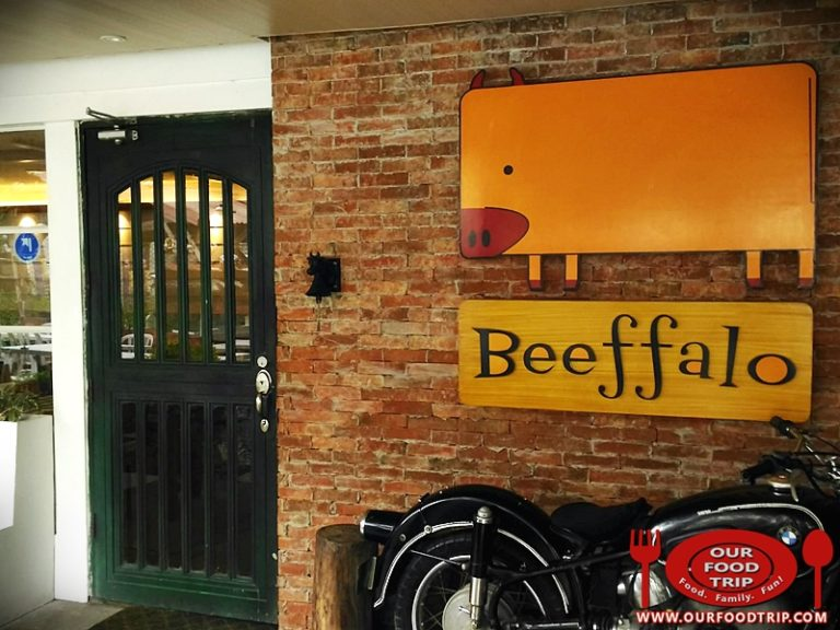 Beeffalo by Hotrocks Marikina – New look, same old favorite restaurant