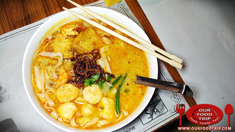 Shrimp and Chicken Laksa